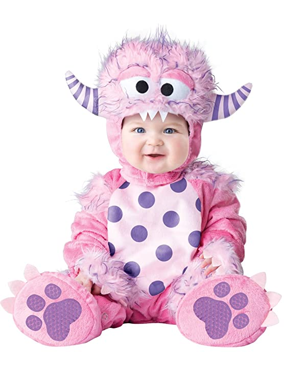 amazoncom incharacter baby girls lil monster costume clothing