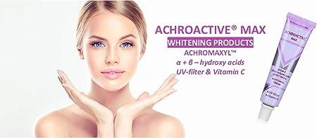 Crema blanqueadora para todo tipo de piel achroactive max