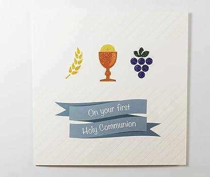 On Your First 1st Sagrada Comunión tarjeta de felicitación ...
