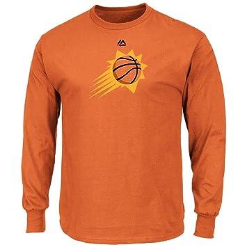 Phoenix Suns Logo Majetic de manga larga T-Shirt, XL, Color del equipo