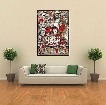 amazon the big lebowski new giant wall art print poster g399 by