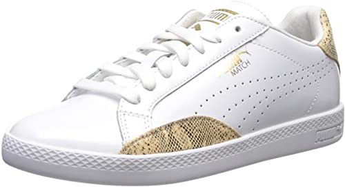 PUMA Women's Match LO Pnt Snake Wn's Fashion Sneaker