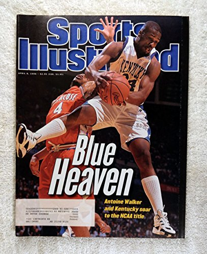Antoine Walker - Kentucky Wildcats - 1996 National Champions! - Sports Illustrated - April 8, 1996 - Syracuse Orangemen - College Basketball - SI (Kentucky Sports Illustrated)