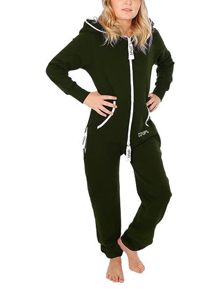 Zipups Mono-Pijama Clean Cut Verde Bosque 10-11 años (140/146