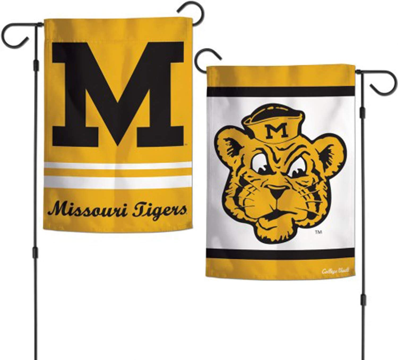 WinCraft University of Missouri Tigers NCAA Garden Flag Double Sided 12.5