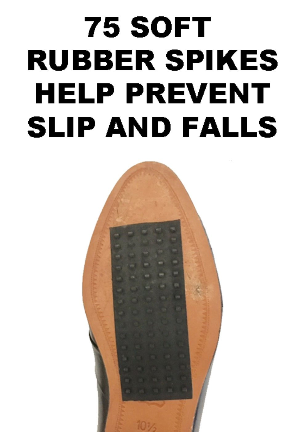 Slide Stoppers Non-Skid Pads For Men's & Women's Shoes by SLIDE STOPPERS