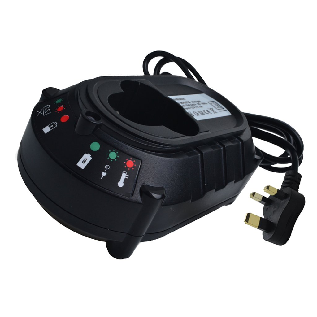 D DOLITY Fast Battery Charger For Makita BL1013 DC10WA 7.2V-10.8V Li-ion Battery UK, 135.2 x 124.7x 90.5mm