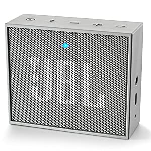 JBL GO Portable Wireless Bluetooth Speaker W/ A Built-In Strap-Hook (GREY)
