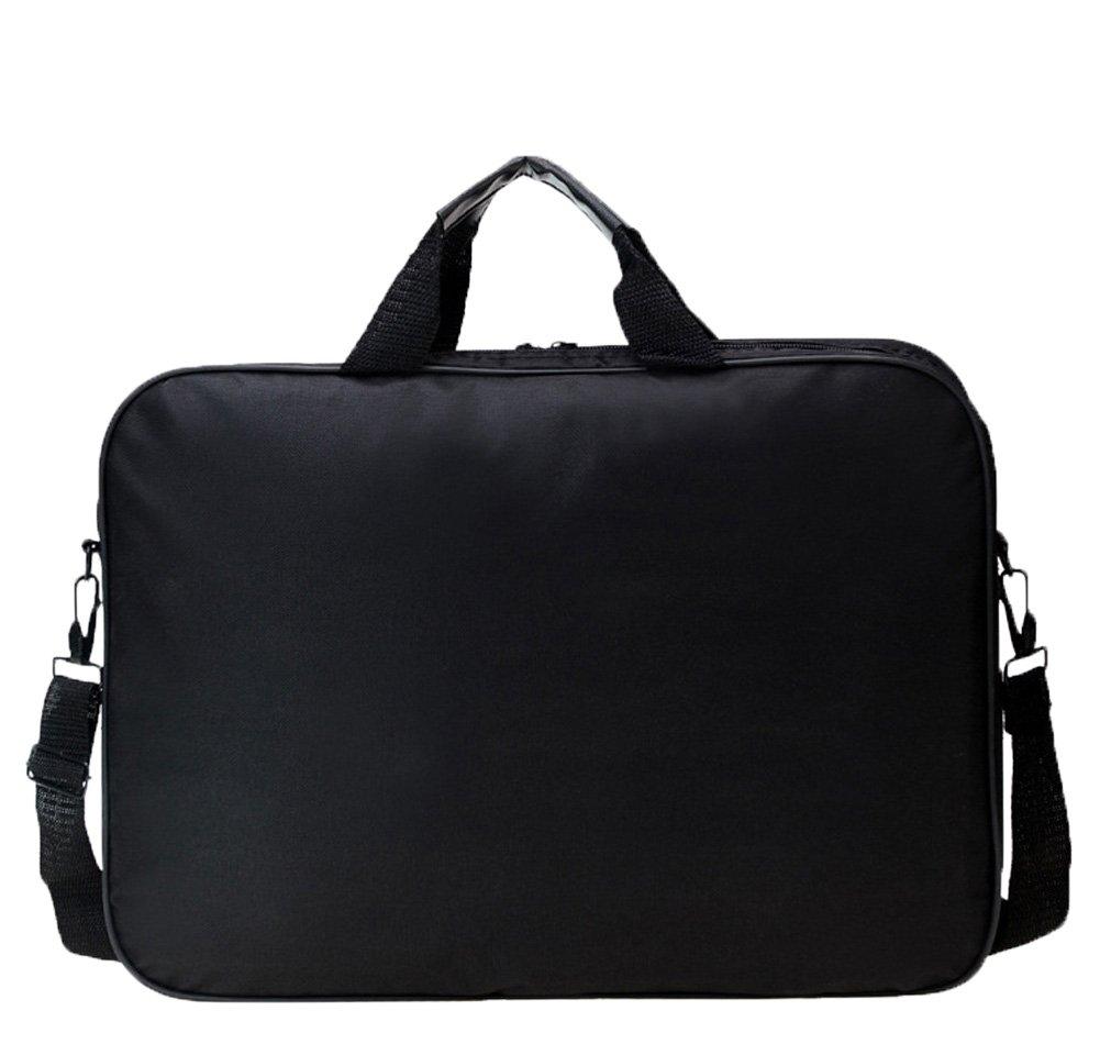 Messenger Bag For 15 Inch Laptop Computer Bag Macbook Shoulder Bag Business Backpack College Bookbag Travel Business Backpack Black Bag by FL Margaret (Image #2)