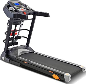 CffdoiPBJI Folding Ttreadmill, Household Small Treadmill, Silent Installation-Free Walking Machine, Multifunctional Home Fitness Equipment