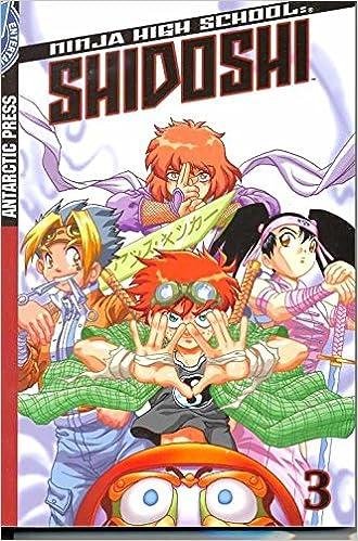 Shidoshi Pocket Manga Volume 3 (Ninja High School) (v. 3 ...