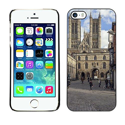 Premio Sottile Slim Cassa Custodia Case Cover Shell // F00017963 ancienne église // Apple iPhone 5 5S 5G