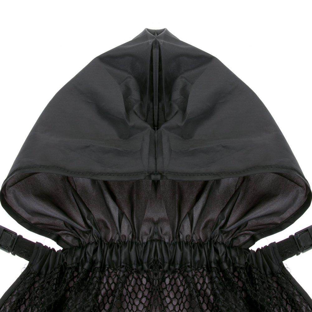 Easydeal Waterproof Windproof Baby Carrier Cloak Mantle Cover Suspender with Hoodie