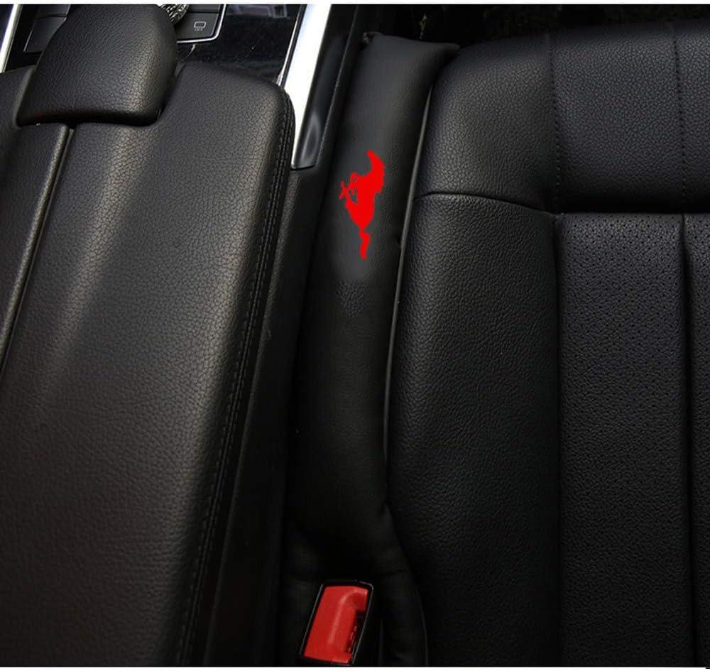 2pcs Autositz Gap Filler Space Pad Kunstleder f/ür Ford Mustang Interior Zubeh/ör,A
