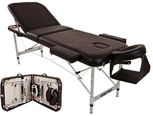 Merax Aluminum Portable Folding Massage Table
