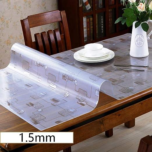 Vbimlxft- - Mantel de vinilo para mesa de café (transparente ...