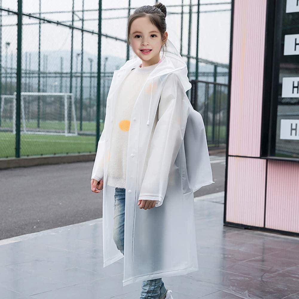 Kleinkind Kinder Regenmantel Kinder Kleinkind Regenbekleidungsjacke Kitbeez Kinder Regenmantel Regenponcho f/ür Jungen M/ädchen Kids rain Coat