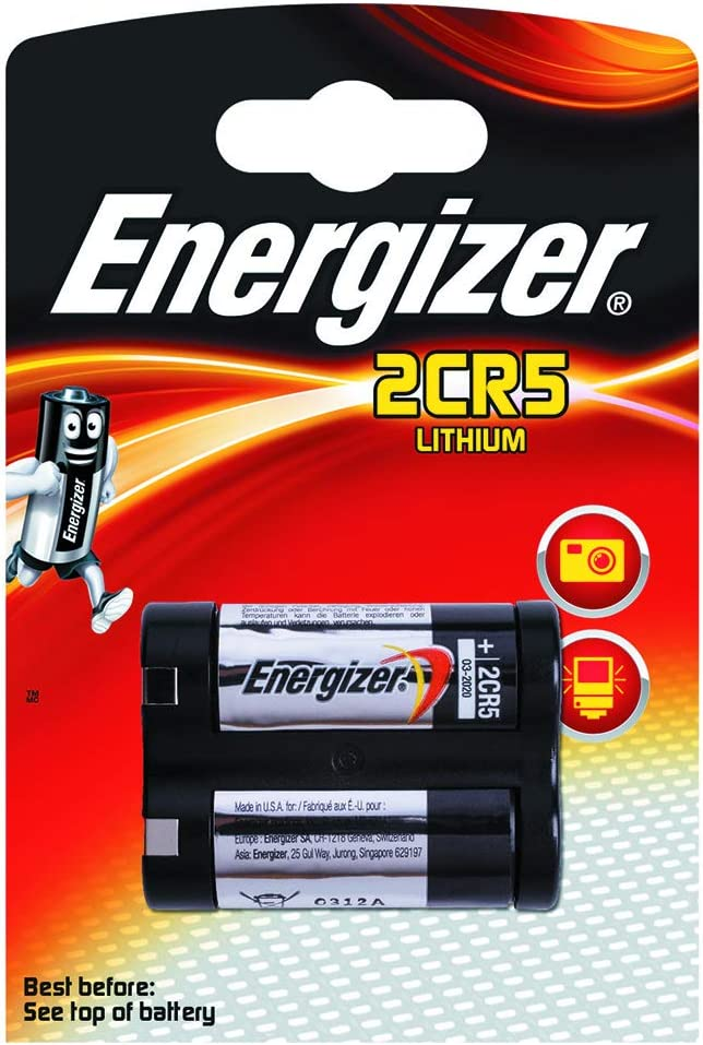 BATERIE ENERGIZER Photo Lithium, 2CR5, 6V
