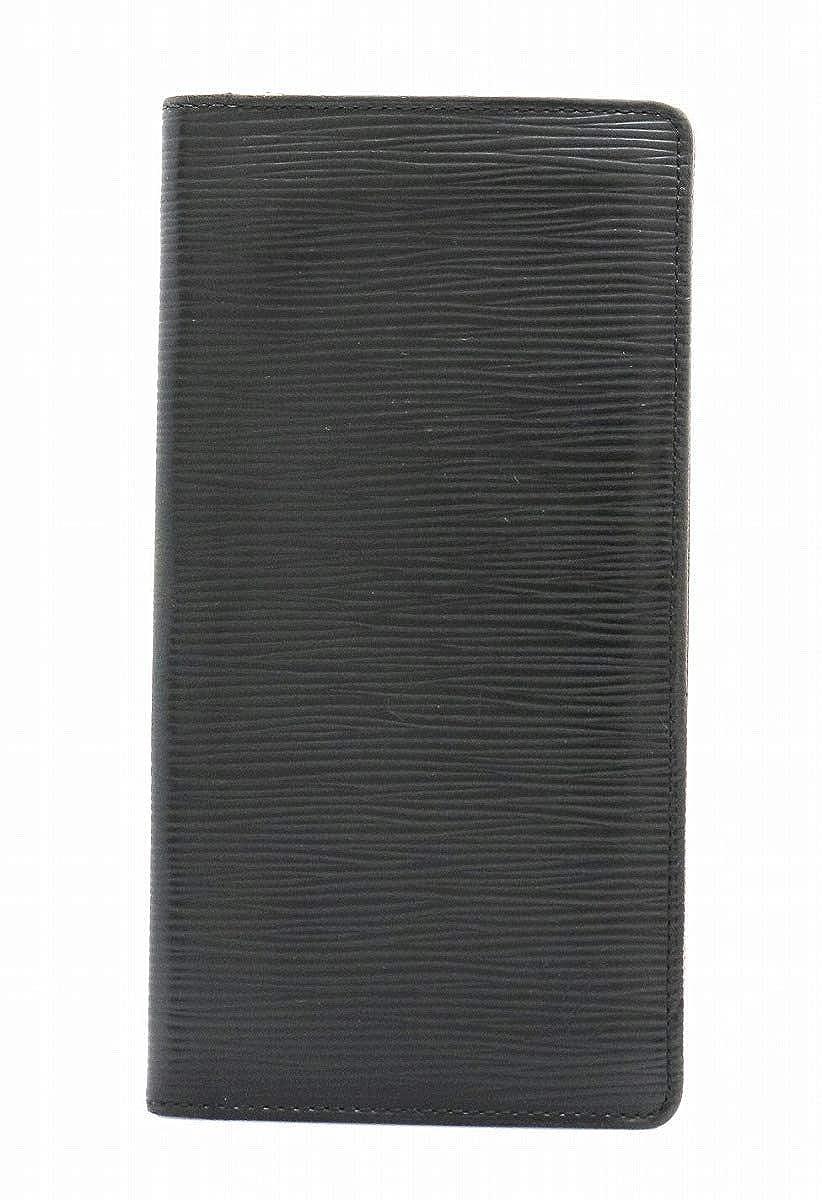 [ルイ ヴィトン] LOUIS VUITTON エピ ポルトフォイユ ブラザ 2つ折長財布 レザー ノワール 黒 ブラック M60622 [中古]   B07L9T4VLW