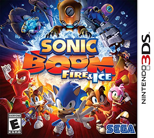 Sonic Boom: Fire & Ice - Nintendo 3DS (Sonic Games For Nintendo Ds)