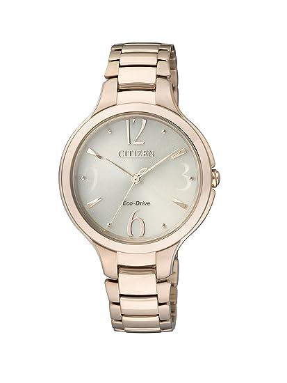 Citizen Citizen L EP5992-54P - Reloj analógico de cuarzo para mujer, correa de