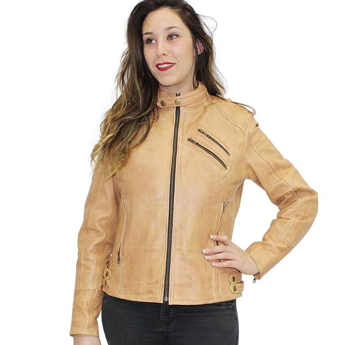 Cuero Para Mujer R Bold Estilo Moto Tech Lady Chaqueta De IfSftwqxH