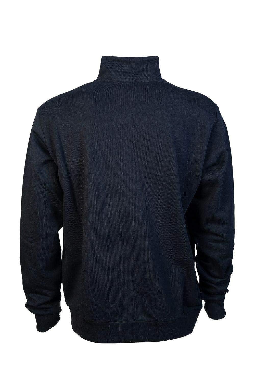 MOSCHINO M651780M3875 Regular Fit Funnel Neck Black//Navy Fleece