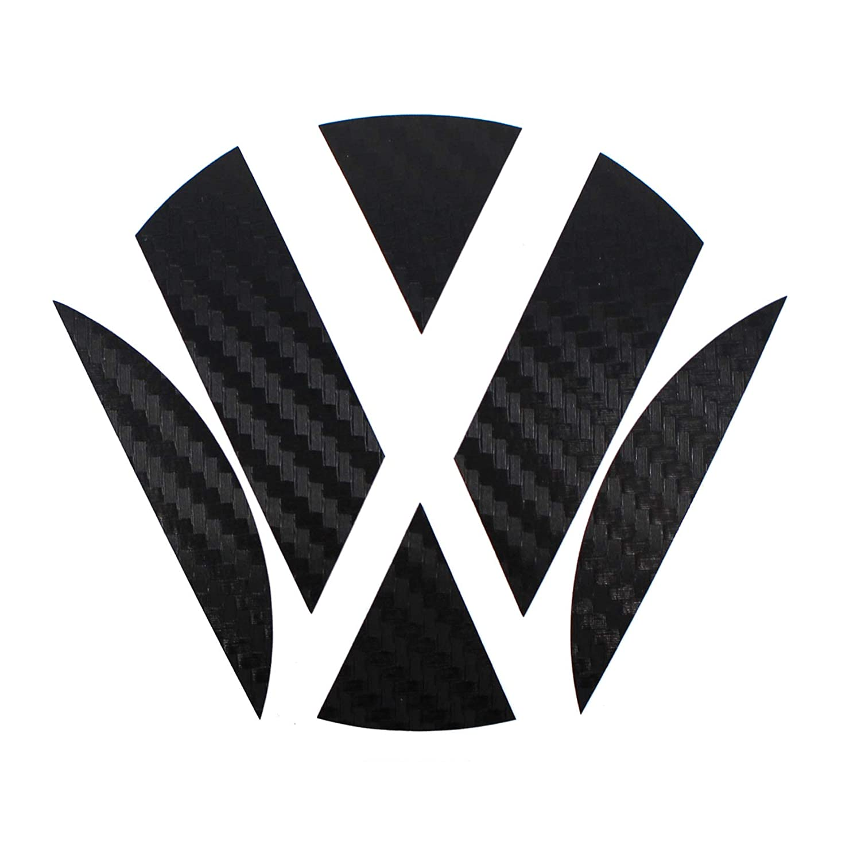 Finest-Folia Emblem Corners in Carbon Black for the R Turbo Logo Film foil
