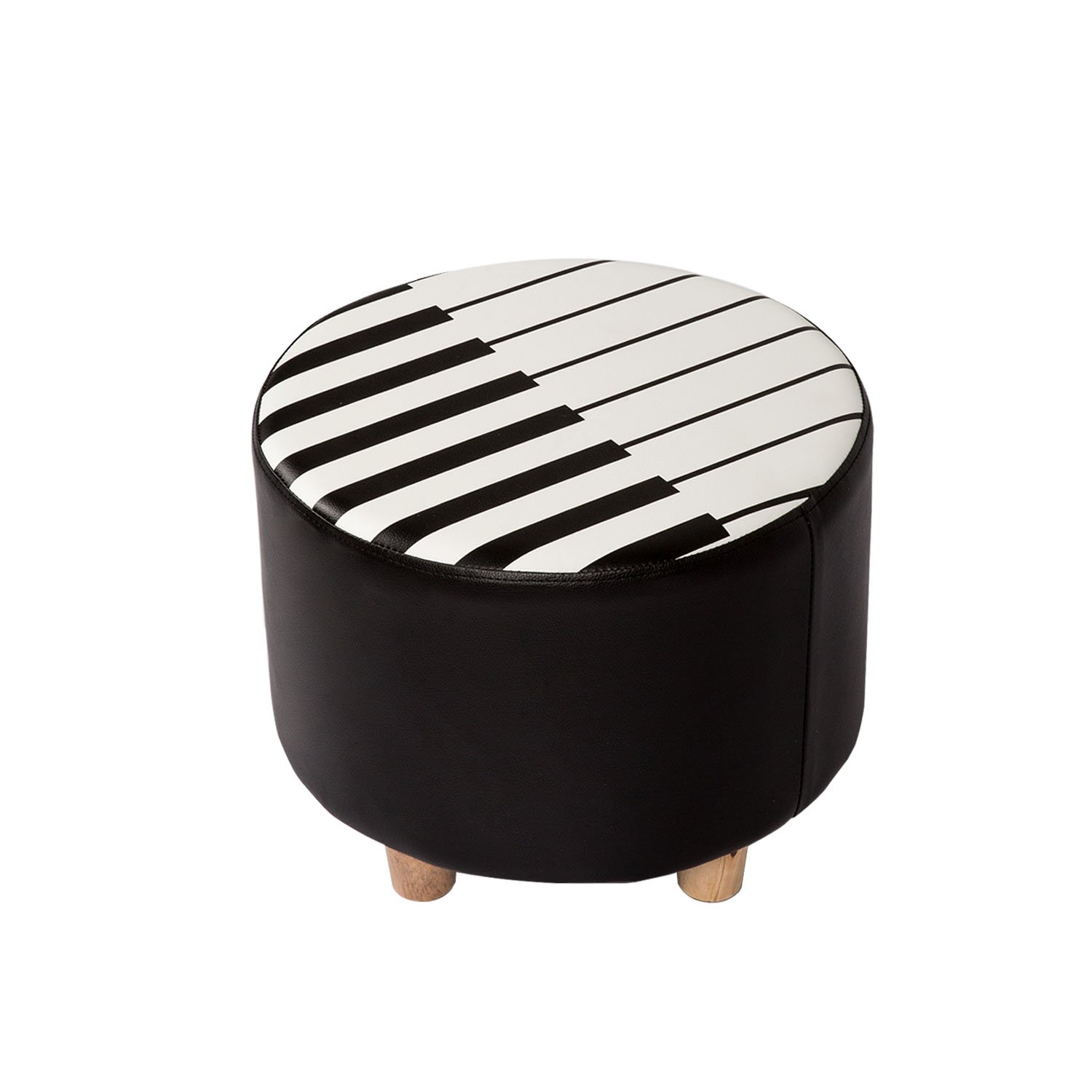 Kinbor Kids Seat Soft Stool Upholstered Chair Piano Style Children Furniture, Ideal Gifts for Kids
