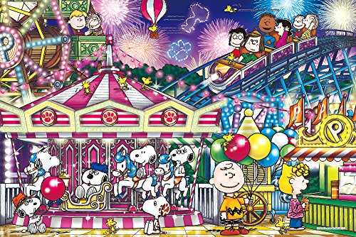 EPOCH 1000 Piece Jigsaw Puzzle Peanuts Snoopy Carnival (5...