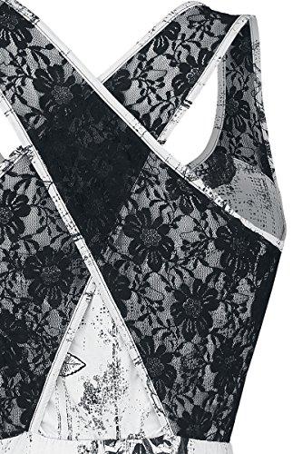 Sweet weiß Premium EMP Weiß Kleid Black by Lady 4BUqt