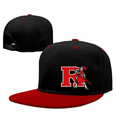 buy online 05555 93990  GinaR  140g Rutgers University R Logo Adjustable Hip Hop Baseball Cap - Red