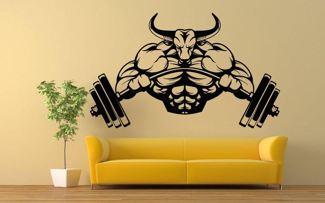 Amazon.com: Wall Room Decor Art Vinyl Sticker Mural Decal Body ...