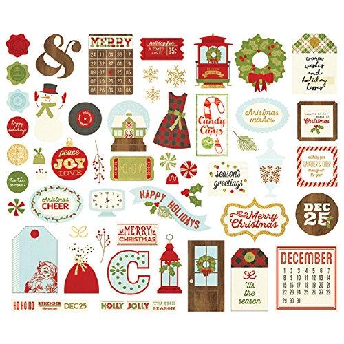 Classic Christmas bit e pezzi Simple Stories 7329