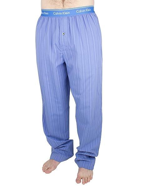 Calvin Klein Pantalón de Pijama - para Hombre Azul Azul Small