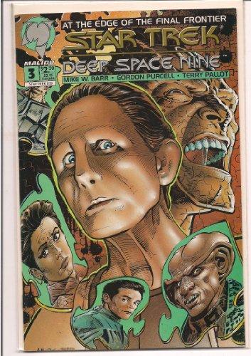 MALIBU COMICS STAR TRECK DEEP SPACE NINE #3 1993