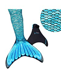 Fin Fun Mermaid Tails for Swimming with Monofin – Girls, Boys, Kids & Adults