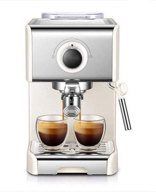 ZLSANVD Cafetera de Filtro Cafetera Cafetera 20bar Bomba máquina de Espresso automática Máquina de café Expresso Inicio Máquina de café Comercial Batidor de Leche máquina de café de la Vaina: Amazon.es: Hogar