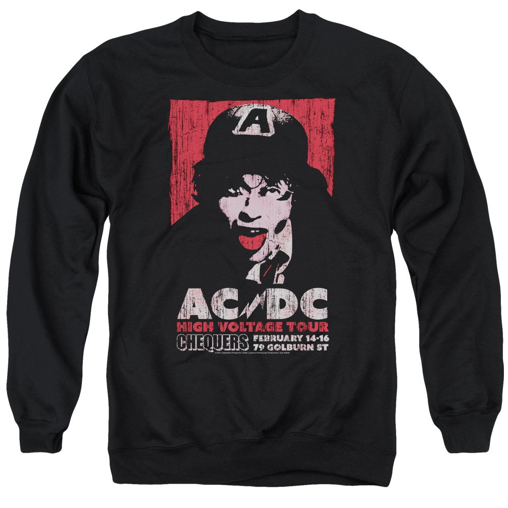 AC DC Herren High Voltage Live 1975 Sweater