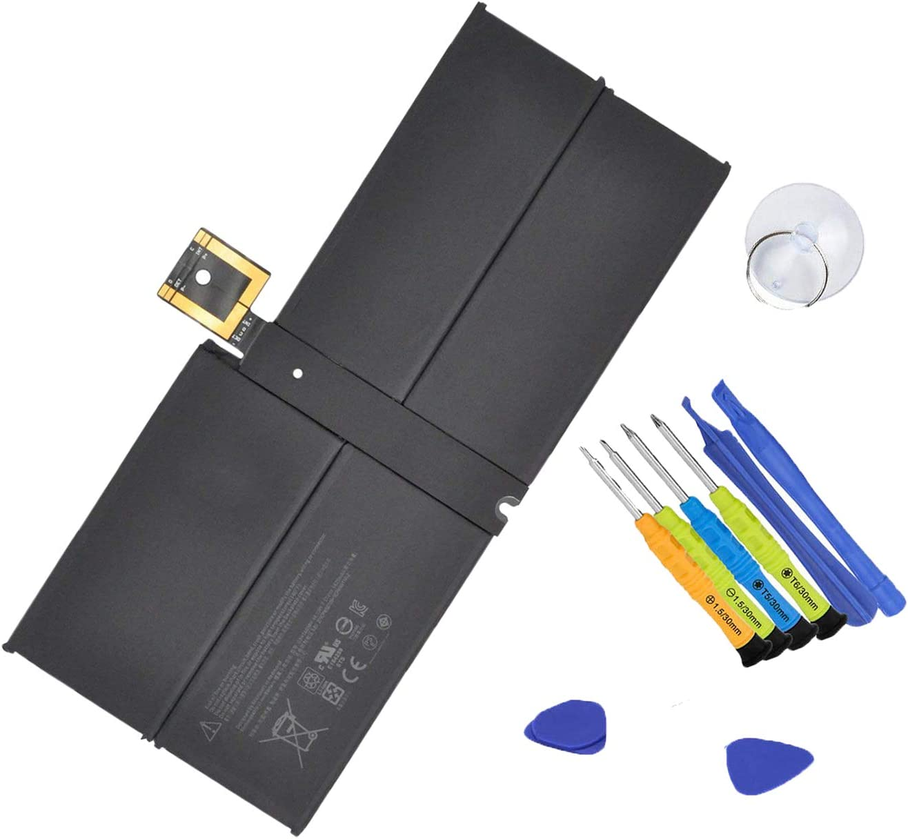 Bateria G3HTA038H para Microsoft Surface Pro 5 1796 -5940mAh