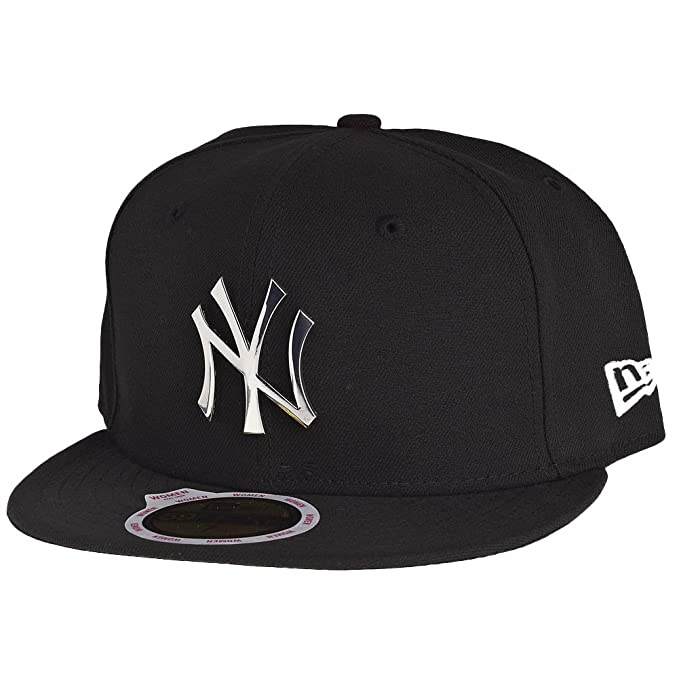 New Era Mujeres Gorra plana Fitted Badge NY Yankees: Amazon.es: Ropa y accesorios