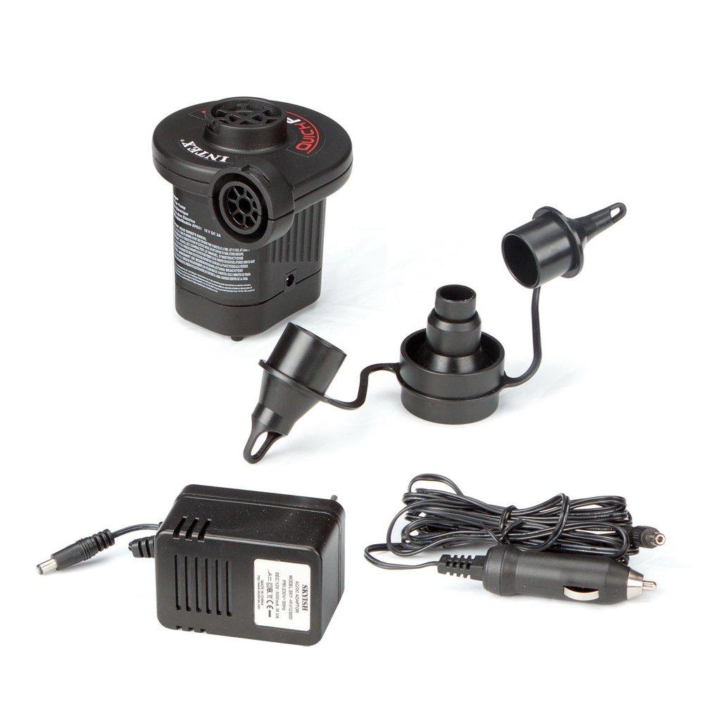 Intex Quick-Fill AC/DC Electric Air Pump, 110-120 Volt, Max. Air Flow 15.9CFM