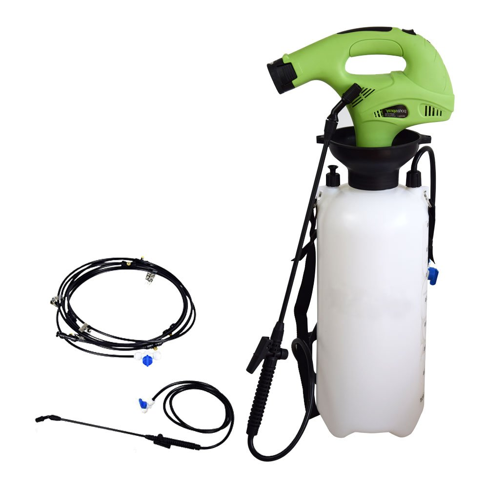 EJWOX Portable 2 Gallon Mist & Sprayer System Perfect for Outdoor, Multi-Function Garden Sprayer