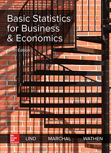 Book cover from Loose Leaf for Basic Statistics for Business & Economics by Douglas A. Lind