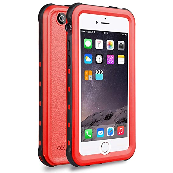 outlet store 1f479 f3633 iPhone 5S / SE Waterproof Case, Waterproof Dust Proof Snow Proof Shock  Proof Case with Touched Transparent Screen Protector, Heavy Duty Protective  ...
