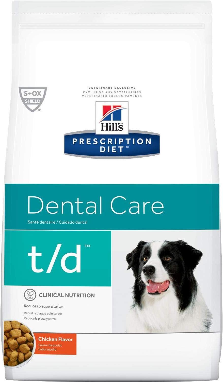 Amazon Com Hill S Prescription Diet T D Dental Health Dry Dog Food 5 Pounds Pet Supplies