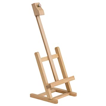 table top easel. 18 Inch Tall Stained Wood Table Top Easel Is Great For Painting Or Display I