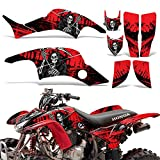 honda 400 ex stickers - Honda TRX400EX 1999-2007 Graphic Kit ATV Quad Decal Sticker Wrap TRX 400 EX REAPER RED