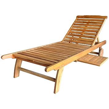 bentley outdoor bain de soleiltransat en bois balau patio jardin - Transat En Bois