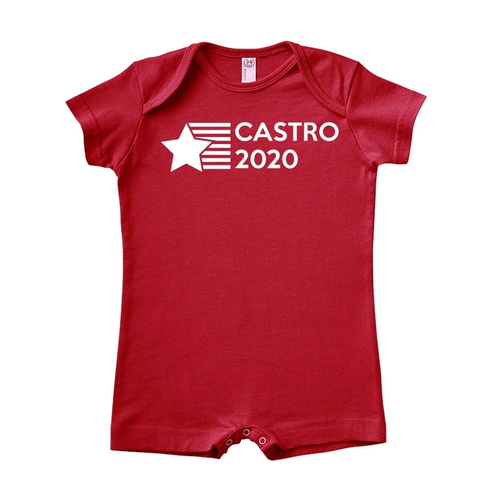 Star//Stripes Mashed Clothing Castro 2020 Presidential Election 2020 Baby Romper